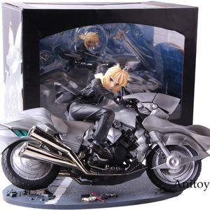 Action Figure Fate Zero Sabre Saber Motorisiertes 1: 8-PVC-Modell zum Sammeln von Spielzeug