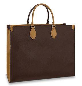 ONTHEGO Borsa a mano NEW Borsa a mano Fashion Grande stampa fronte / retro stile diverso Borsa Designer Designer borsa di alta qualità