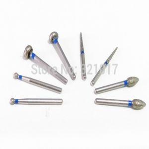 60pcs Matériel dentaire burs diamant produit matériel de laboratoire dentaire Livraison gratuite