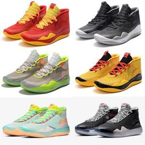 EYBL kevin durant kd homens sapatos de crianças de basquete KD 10 12 90 Kid Oreo Multi-Cor mens formadores Sports Sapatilhas