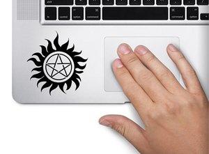 Symbole Supernatural Decal drôle Ordinateur Portable Laptop Skin Trackpad clavier autocollant fenêtre 7.5x7.5cm