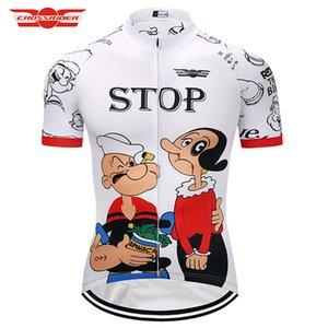 2020 Cartoon Uomini Cycling Jersey Estate MTB bici dei vestiti indossare abiti corti Maillot Roupa Ropa de Ciclismo Hombre Verano