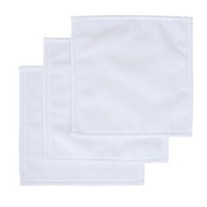 التسامي منشفة البوليستر القطن 30 * 30CM منشفة فارغة ساحة الأبيض منشفة نقل DIY الساخن الطباعة مناشف اليد الناعمة المناشف A03