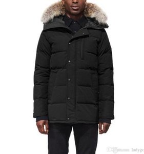 20ss Canada Men Winter Down Parkas Hoodie Black Navy Gray Jacket Winter Coat Parka Fur Sale With Free Shipping Outlet8d80#