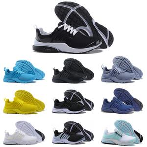 Nuevos lanzamientos PRESTO 5 BR QS Breathe Triple Negro Blanco Amarillo Rojo para hombre zapatos corrientes Safari Sports Pack Trainer zapatillas de deporte 36-45