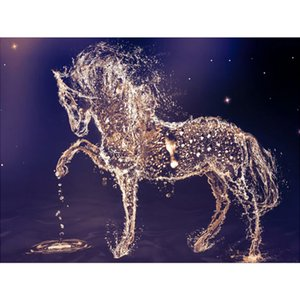 5D DIY Diamond Painting Horse Animal Full Diamond Embroidery Mosaic Picture of Rhinestones Home Decor Gifts