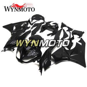Karosserie für 2011 Kawasaki ZX6R 2009 2010 2012 Verkleidungs-Kits ZX-6R 09 10 11 12 636 Abdeckungen ABS-Kunststoff-Injektionskörper-Frames schwarz