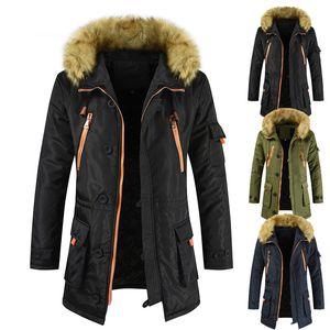 New Arrival Mens Coat Parkas Men Designer Fashion Solid Color Winter Clothing Down Coats Mens Luxury Oversize Long Thick Down Coat Plus Size