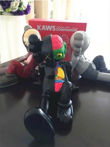 [TML] Anime 28cm KAWS Companion orijinal sahte siyah, kırmızı ve gri medicom Aksiyon Figürleri model oyuncak toplama hediye bebek KAWS