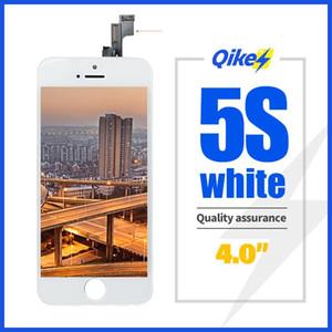 Sostituzione all'ingrosso mobile dello schermo di visualizzazione di tocco del telefono Lcd Assemblea del convertitore per Iphone 5S bianco di buona qualità