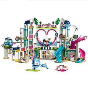 01068 Kız Serisi Heartlake City Resort Set Monte DIY Doğum Günü Oyuncaklar Çocuklar Için Noel Hediyeleri