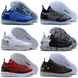 2019 Новое Прибытие KD 11 Мужская Детская Баскетбольная Обувь, Zoom EP React EYBL Параноидальные Многоцветные Спортивные Спортивные Кроссовки