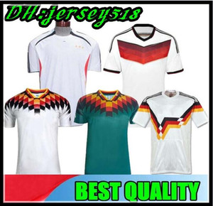 1990 1994 1996 1988 Germania Retro versione Littbarski BALLACK maglia da calcio Klinsmann Matthias casa lontano 2014 camicie Kalkbrenner JERSEY