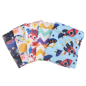 1X Washable reusable Cars Baby Diaper Nappy Wet Dry Waterproof Bag Reusable Swim Travel Zip Pockets
