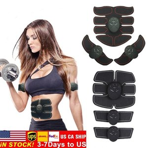 Abdominal Muscle Stimulator Trainer EMS Abs Fitness Equipment Training Gear Muscles Electrostimulator Toner Exercise At Home Gym FY0030