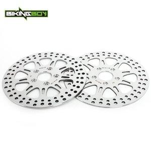 Bikingboy 11 .5 Front Rear Brake Discs Disks Rotors For Dyna 1340 Fxdb 1991 -1999 Fxdwg 1993 -1998 Fxlr 1987 -1999 1340 Fxr 87 -89