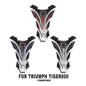 Nueva motocicleta 3D tanque de combustible almohadilla decoración personalidad creativa pez hueso protección pegatinas para TRIUMPH TIGER 800 TIGER800