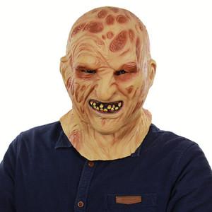 Zombie Visage Masque Horreur Pourri Visage Masque Halloween
