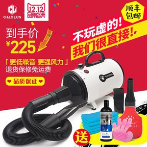 Super Lum Pet Water Blower Dog Hair Dryer High Power Mute Large Dog Cat Special Dry Blowing Hair Artifact