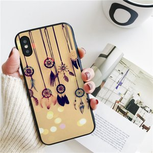 Coque Dream Catcher Cover for iPhone 11 Pro Xs Max Xr Case for iPhone 8 7 6s Plus 5S SE 5 Case Soft Silicone Cover.