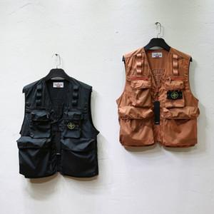 mens coat stripe detalhe preto duas cores tamanho asiático tecido Terry pullover em torno do pescoço à prova de lágrima por casacos blusas macho coletes