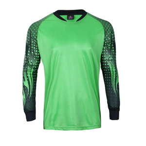Kids to Adult Soccer Goalkeeper Uniform Men Soccer Jerseys Children Football Goalkeeper Doorkeepers Shirt pants Shorts