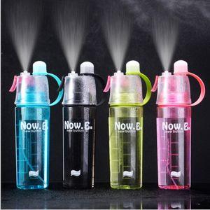 Nuovo 20 once Spray Kettle Bottiglie di acqua portatile a perfetta tenuta Bere Coppa del commestibile di plastica della bottiglia di acqua in bicicletta Escursionismo tazza di campeggio DBC BH3650