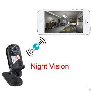 día Q7 Mini Wifi DVR IP inalámbrico video de la videocámara de infrarrojos nocturna de la cámara de la cámara de detección de movimiento Micrófono incorporado