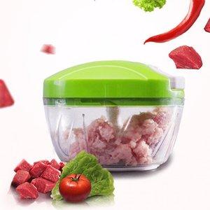 DropShip Poderosa picadora manual de carne Podadora manual para alimentos Picadora Picadora Mezclador para Picar Carne Fruta Verduras Frutos secos Desmenuzadoras