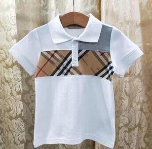 nouveaux vêtements enfants concepteur enfants garçon bébé vêtements fille courte cravate de mode manches de chemises de T-shirt enfant tee