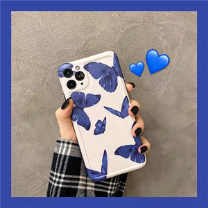 2020 New Designer Fashion Protective Soft TPU Smooth utterfly Phone Case For iPone 11Pro 11ProMax 11 X XS XR XRMAX 7&8 7&8Plus