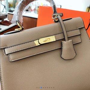 2020 neue Einkaufstasche, italienische Luxusmarke, Designer Design Leder Stoff Größe 28 23 a3