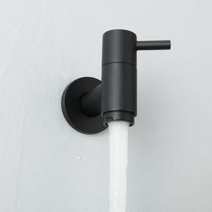 Açık Bahçe Duvara Monte Havzası Musluk Banyo Çamaşır Makinesi Su Dokunun Prinç Tek Soğuk Lavabo Bataryası