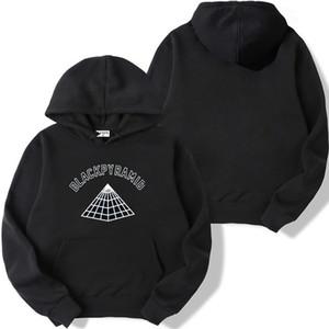 2019 Black Pyramid autunno inverno segno di abbigliamento alfabeto luce per un paio di ragazzi maschio e womenautumn hoodie Y200519