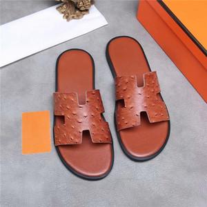 Hombre de primavera y verano de colores zapatillas de cuero, zapatillas de cuero multicolores para una escapada barata y de bajo costo con la caja 38-44
