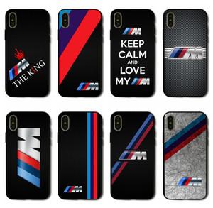 Housse pour téléphone iPhone X XS Max XR 6 7 8 6S Plus 5 SE Samsung Galaxy 5S S6 S7 S8 bord Plus pour BMW Logo Case
