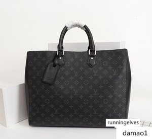 M44733 GRAND SAC bolsos de lujo diseñador de los hombres bolsos de compras mensajero de las compras bolsillos del bolso de hombro Totes