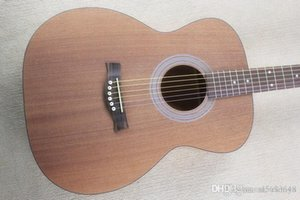 Firehawk 41 -Inch Matte Natural Color Om Acoustic Guitar With Rosewood Fretboard ,Mahogany Body ,