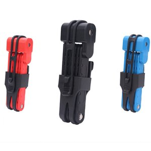Professional Bicycle Lock MTB Road Folding Anti-theft Alloy Steel Bike Lock Keys Cycling Security Bike Lock Bicycle Accessories