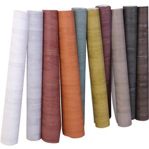 rotolo di carta di alta qualità 3D Nordic goffratura profonda Pianura Stripe Gray Line White Wall Soggiorno Camera da letto Wallpaper Negozio di abbigliamento semplice