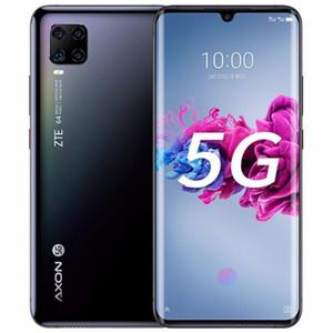 "ZTE origine Axon 11 5G Téléphone mobile 8 Go RAM 256 Go ROM Snapdragon 765g Octa base Android 6.47"" 64.0MP AI visage ID d'empreintes digitales ID Cell Phone"