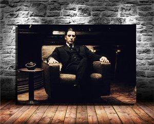 Il Padrino, Film, Michael Corleone, HD Tela Stampa Nuova decorazione della casa della pittura di arte / (Unframed / Framed)