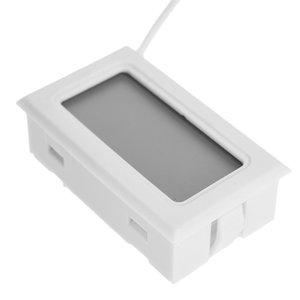 Calendário LCD de alta qualidade 1Pc Digital Thermo higrômetro Indoor Outdoor Wireless Weather Station Relógio Termômetro Digital