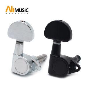 Sealed-gear Akustische E-Gitarre String Tuning Pegs Tuner Maschine Kopf-Big Halbkreis Taste