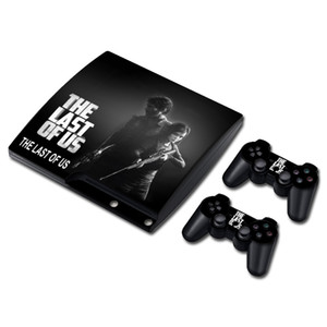 THE LAST OF US Skin Sticker Decal for PS3 Slim PlayStation 3 Console and Controllers For PS3 Skins Sticker Vinyl