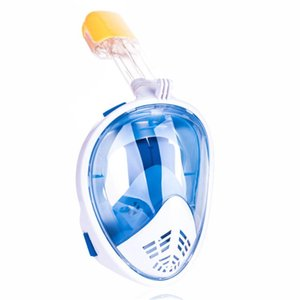 Maschere subacquee Maschera full Face Mask Snorkeling Set Kit subacqueo secco Nuoto Attrezzature per occhiali da nuoto Goggles