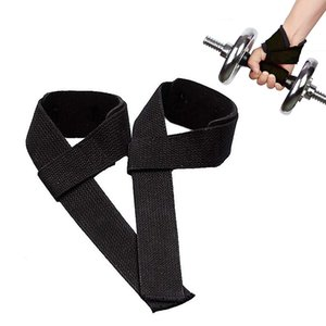 Cinghie di sollevamento pesi (1 paio) Impacchi Maniglia Supporto per il polso per sollevamento pesi Crossfit Allenamento per la forza Bodybuilding Allenamento per sollevamento pesi
