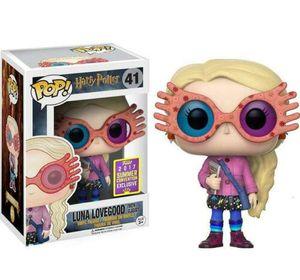 FUNKO POP Harry Potter personnage de Luna Lovegood avec des strass de collection 10cm figurines Action # 41 de haute qualité