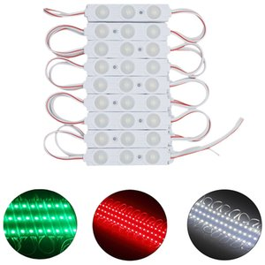 High Lumen Waterproof 12V RGB Led Pixel Modules 3 Leds 5050 SMD Led Modules 80LM Led Backlights For Channer Letters