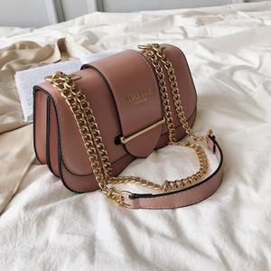 2019 nuevo Plain new disign bag Cadena Hombro Messenger bags Wild lady bag Moda Hombro Moda femenina bolsas meizaidaidai / 4